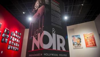 """Light & Noir"" exhibit entry photo"