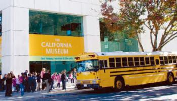 Located at the Archives Plaza light rail stop, the Museum is just one block away from the State Capital on the corner of 10th and O Streets. © 2015 California Museum. All rights reserved.